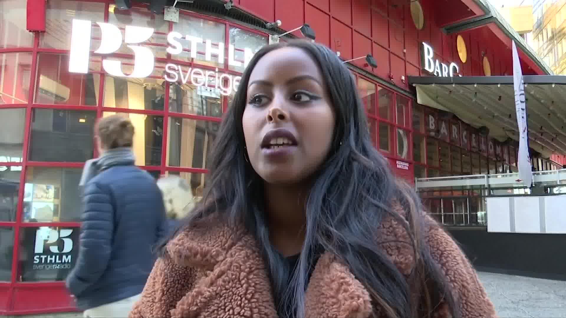 Swedish R&B singer Cherrie gives thanks to Somali fans