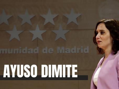 Díaz Ayuso convoca elecciones en Madrid para eliminar la posibilidad de una moción de censura