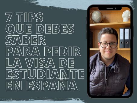 7 Tips Que Debes Saber Acerca de a Visa de Estudiante