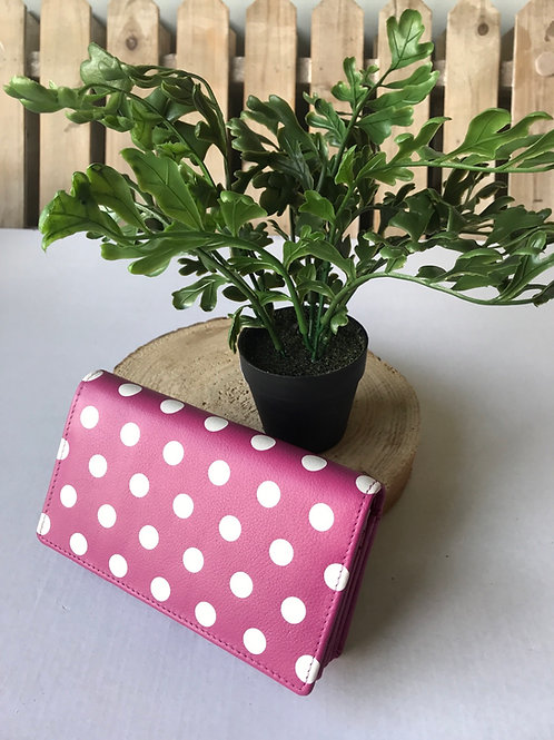 Wallet Purse - Pink Spotty