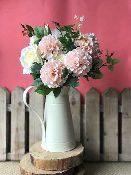 Rose/Dahlia - Potted Jug