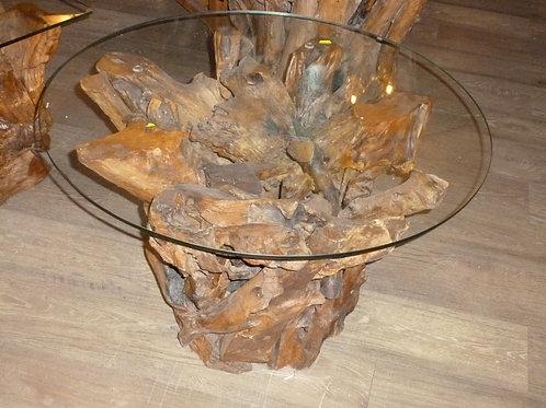 Teak Root Round Coffee Table