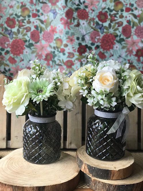 Glass Vase Bouquet - Medium