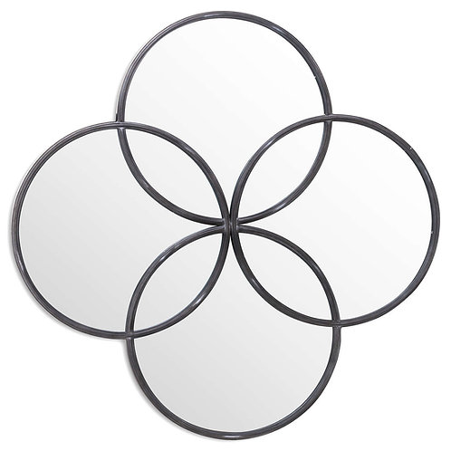 Grey Circle of Life mirror - Large