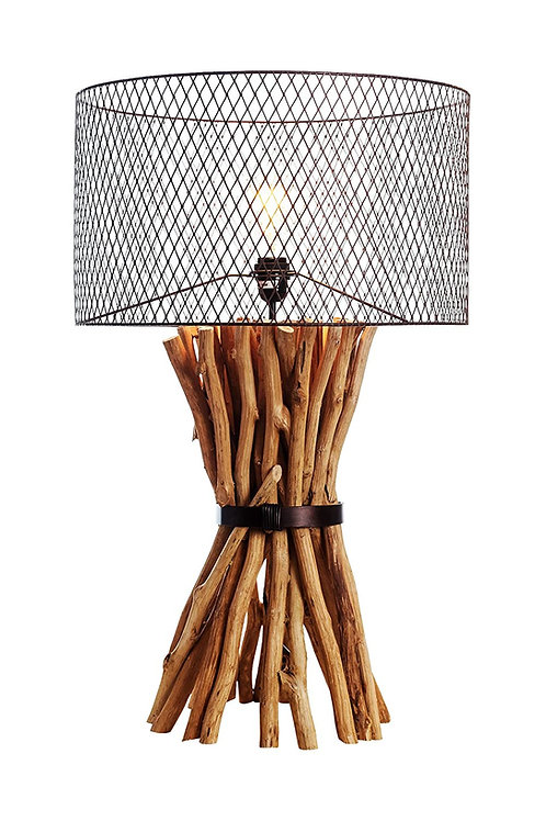 Industrial Bunched Elements Table Lamp
