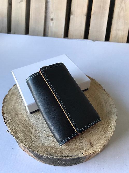Key Case - Black Tropical