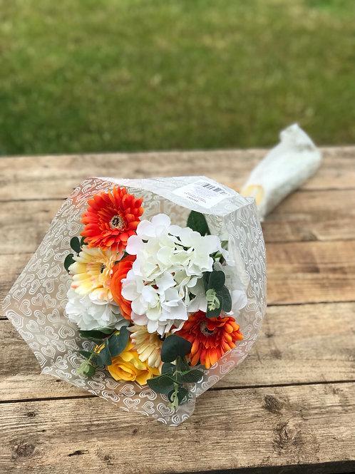 Forever Flowers- ORANGE