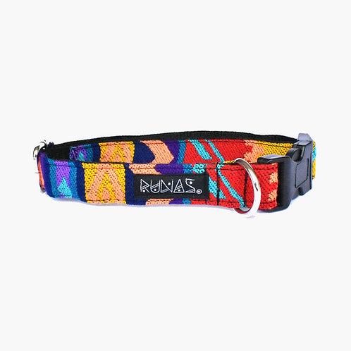 Collar de perro folk 012