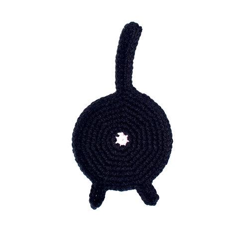 Porta vaso Gato Negro