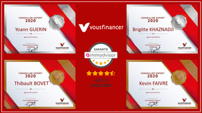 Vousfinancer : Récompenses 2020