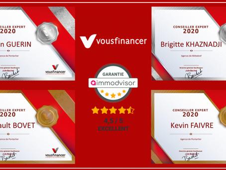 Vousfinancer : Récompenses 2020