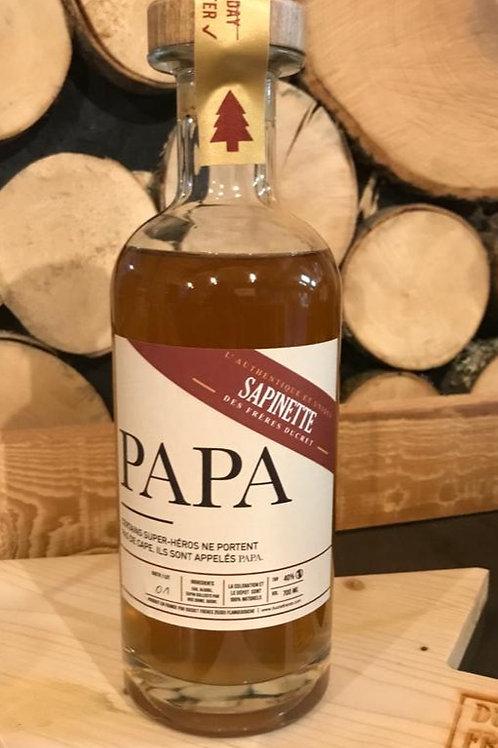 """Sapinette """"PAPA"""" 70cl - 40% Alc."""