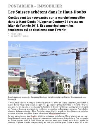 Est Républicain - Janvier 2019