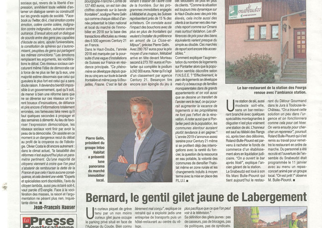 La Presse Pontissalienne - Janvier 2019