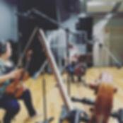 String Quartet Recording Session, Disney Studios, Orlando, FL