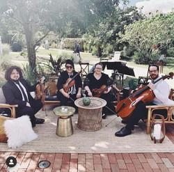 String Quartet Ceremony & Cocktails