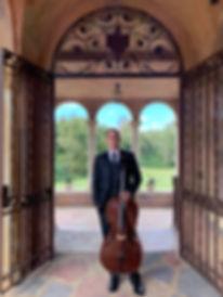 Solo Cello weddings events parties Orlando, FL, The Howey Mansion