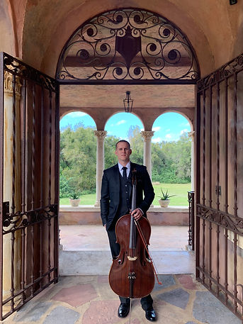 Solo Cello weddings events parties Orlando, FL, The Howey Mansion