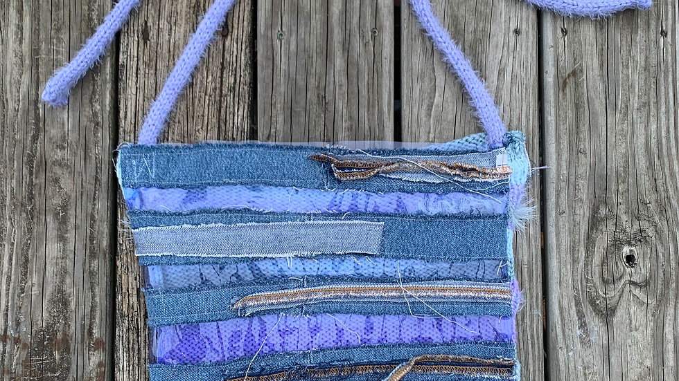 Vinyl Knit Tote