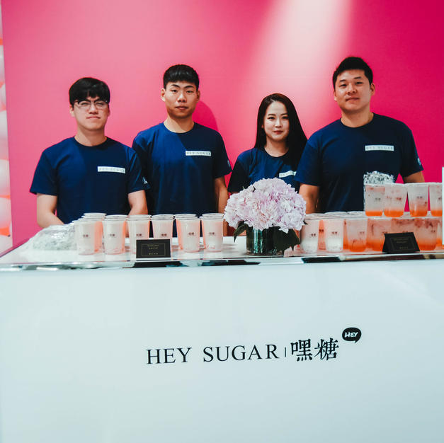 Hey Sugar Team at Holt Renfrew Event