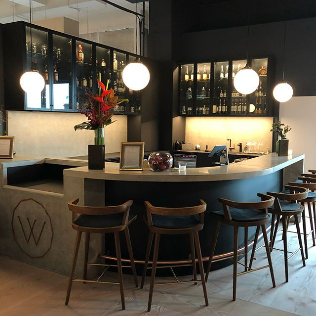 So happy to spend a rainy Tuesday soaking up the beautifully designed spaces of our alternate Sydney home- _workclubglobal's new site at Bar