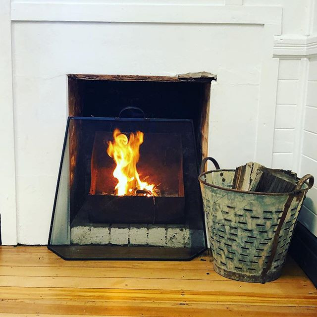 It's a cold one! First time we have lit the open fire at _worklifeberry 🔥 ❄️......jpg