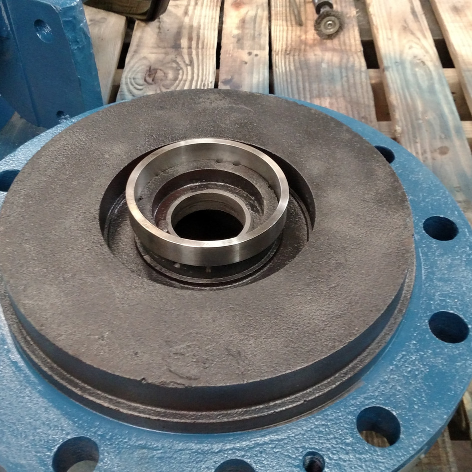 Centrifugal Pump Wear Ring Replacement