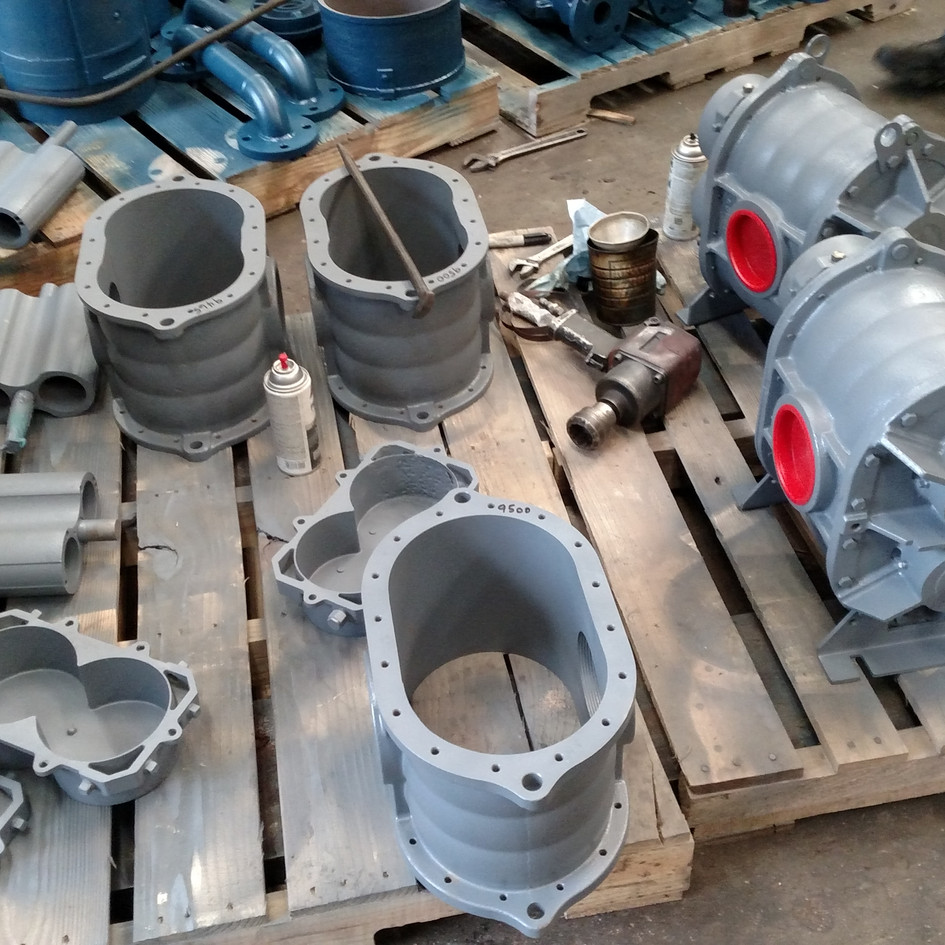 Complete Roots Blower Remanufacture