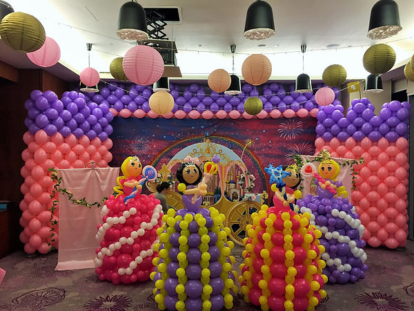 balloon decoration packages singapore.JP