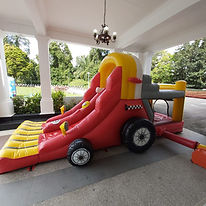 Race car bouncy castle.jpeg