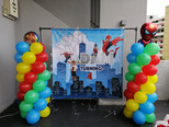 Spiderman theme balloon decoration.jpg