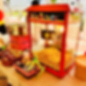 Popcorn and Candyfloss rental singapore.