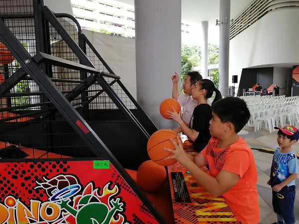 Basketball arcade machine rental singapo
