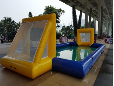 Water-Soccer-inflatable-Rental-Singapore