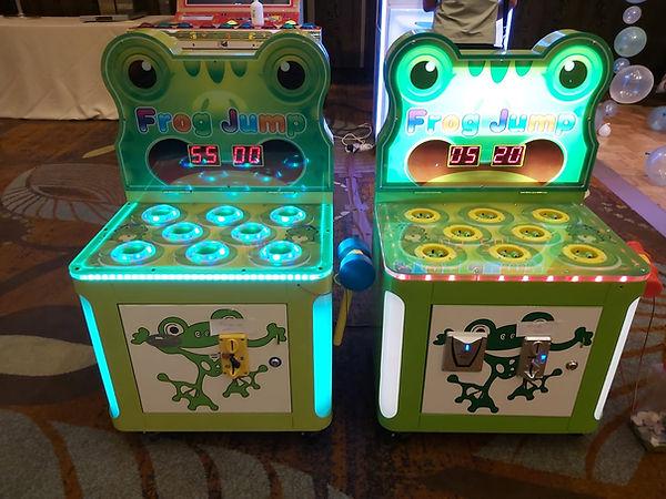 wack a frog rental arcade machine singap