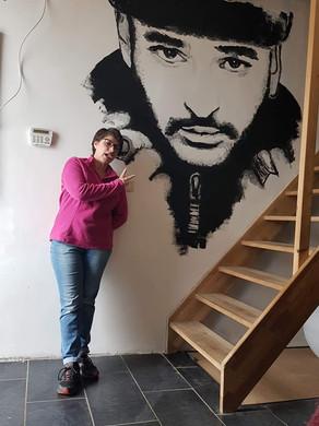 Slimane peinture murale
