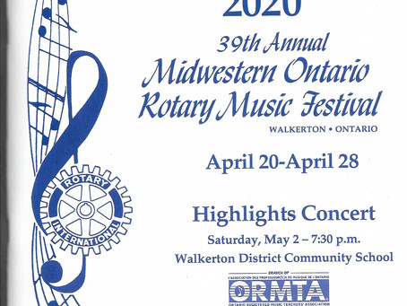 Music Festival Registration!