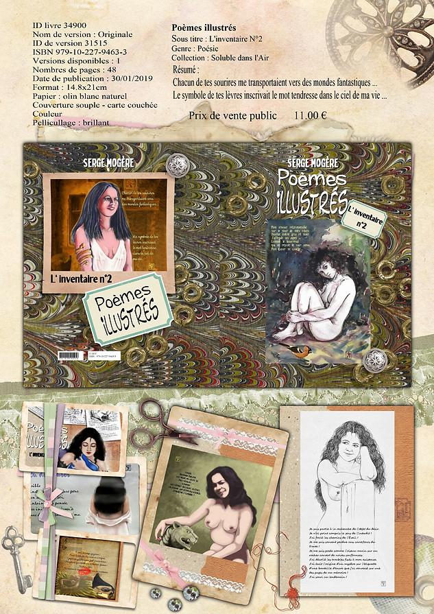 Poèmes illustrés - L'inventaire N° 2