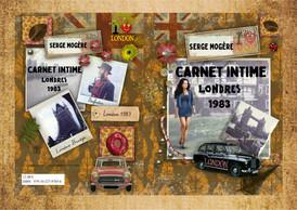 Carnet Intime - Londres 1983