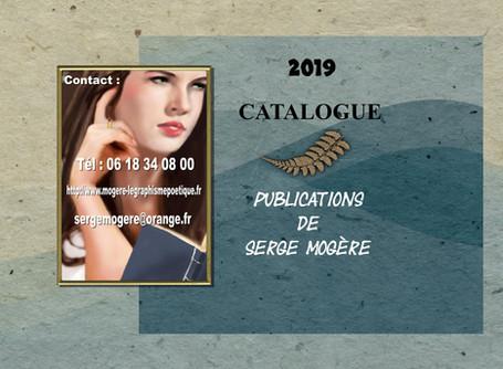 Catalogue des publications de Serge Mogère 2019