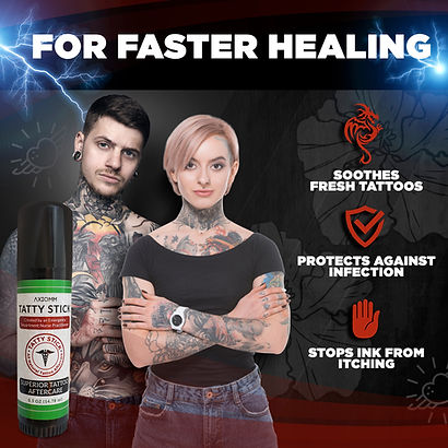 Tatty Stick for Faster Healing