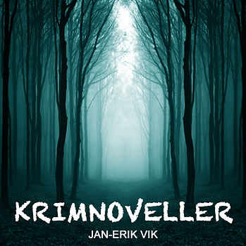 Logo til podcasten krimnoveller av forfatter Jan-Erik Vik