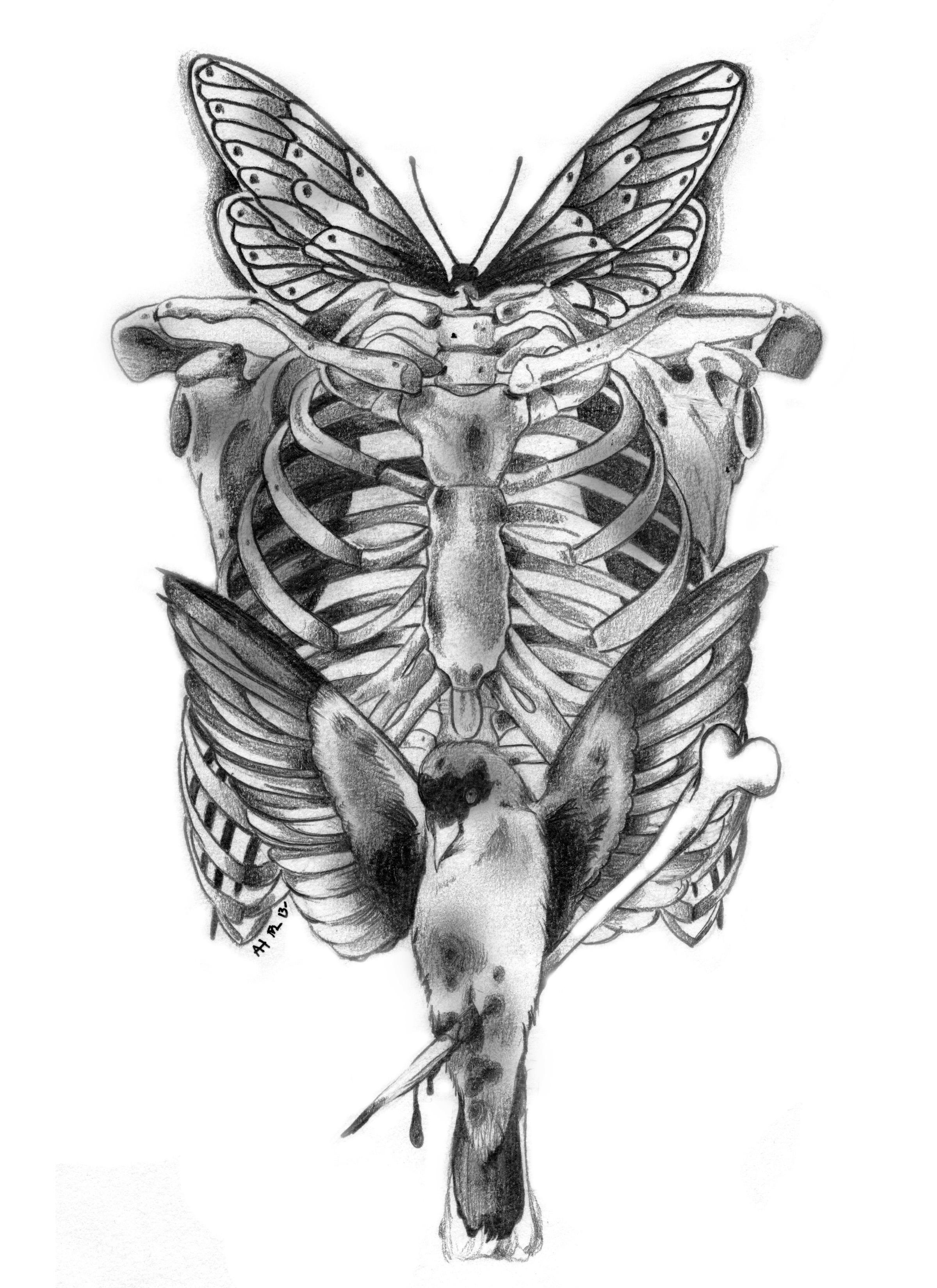 Ribcage Sparrow