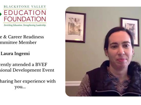 BVEF Professional Development - A Personal Experience
