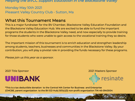 Golf Tournament at Pleasant Valley, May 10th