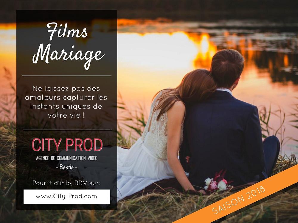 FILMS MARIAGES CITY PROD CORSE