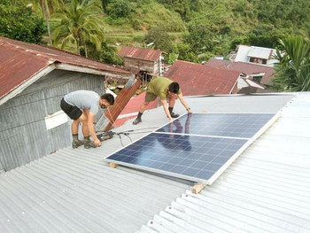 Conflict-affected IP Community benefits from Solar Electrification Project in Abra