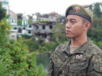 Healing where the wounds hurt most, Cpt Villarosa  in pursuit of peace and development