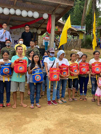 Soldiers bring basic services to Davao Oriental's remote village
