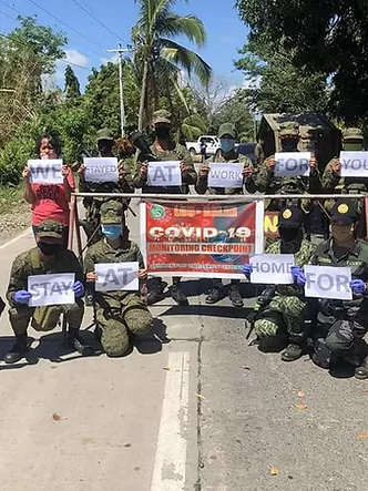 Northern Luzon Command aids in battle against CoViD-19